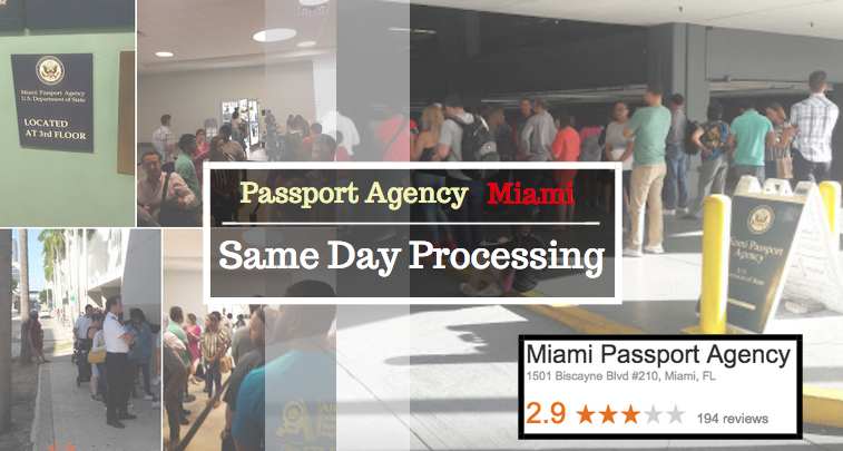 Same Day Passport Miami Agency