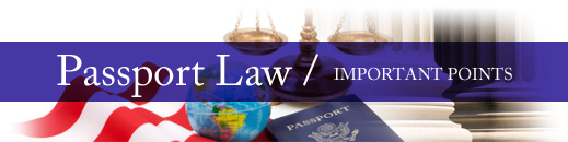 New Passport Laws For 2010: What You Need to Know