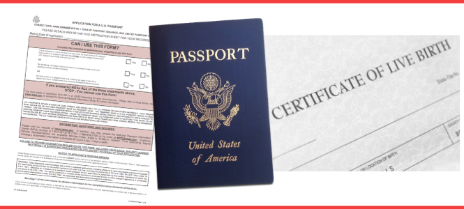 birth certificate passport application