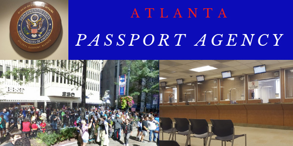 Emergency passport service Atlanta Passport Agency