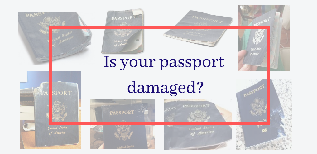 Is your passport damaged?