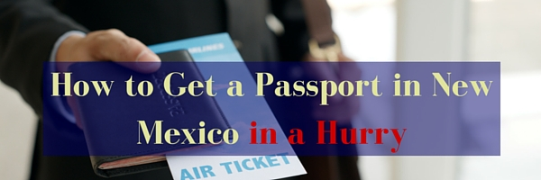 How to get a passport in new mexico
