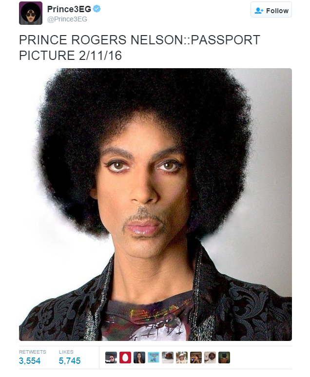 How to Take a Passport Photo Like Prince