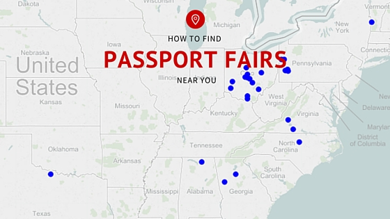 How To Find A Passport Fair Near You