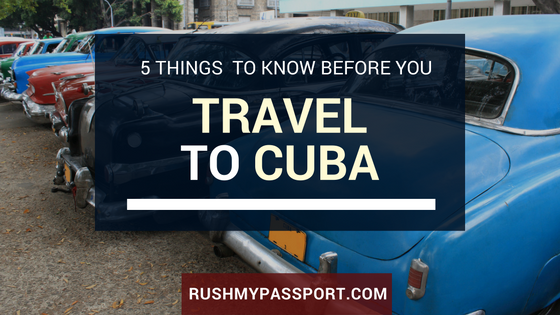 Travel to Cuba: 5 Rules Americans Need to Know