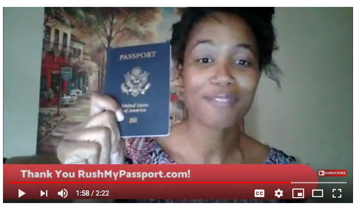 RushMyPassport.com Customer Reviews