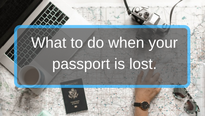 replace a lost passport