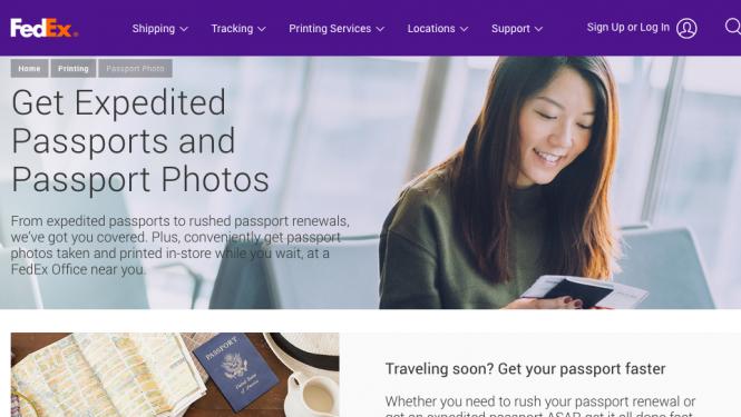 FedEx Passport services