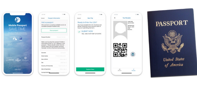 mobile passport rushmypassport services